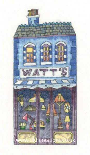 Watts Shop Cross Stitch Chart